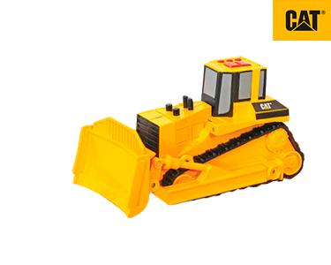 Veículos Construção 15 cm Luz e Sons Bulldozer CAT®
