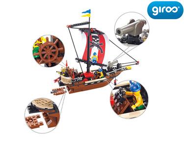 Pirate Barco Piratas Warriors | 226 Peças