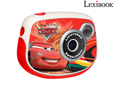 Máquina Fotográfica Lexibook® | Câmara Digital Com Ecrã LCD - Cars