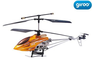 Helicóptero RC / 3ch Alumínio com Estabilizador | 25 cm