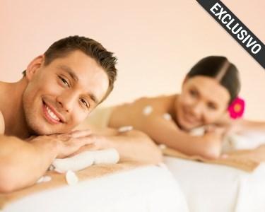 Love & Relax Moment | Massagem + Mini Facial para Dois | 3 Locais