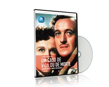 DVD 'Um Caso de Vida Ou De Morte' de João Bénard da Costa