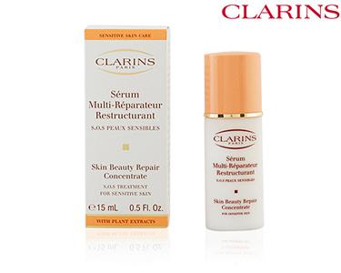 Sérum Reparador Restruturante 15 ml | Clarins®| Peles Sensíveis