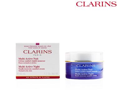 Creme Noite Vitalidade e Juventude 50 ml | Clarins®
