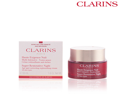 Creme Noite Intensivo 30 ml | Clarins® 50 ml | Todas as Peles