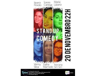 «Só Mulheres» - 20 de Novembro | Entrada Dupla - Lisboa Comedy Club