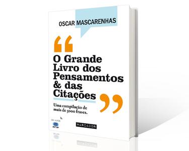 'O Grande Livro dos Pensamentos & das Citações', de Oscar Mascarenhas