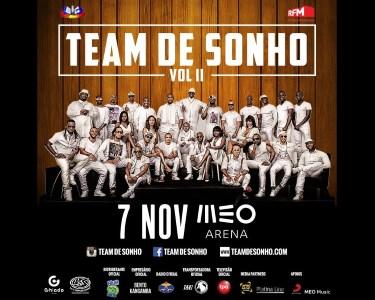 Team de Sonho II - 7 de Novembro | Ritmos Africanos no MEO Arena