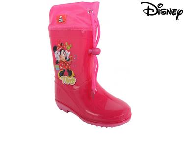 Botas de Borracha Minie Fushia Disney® | Escolha o Tamanho