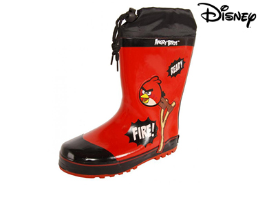Botas de Borracha Angry Birds Disney® | Escolha o Tamanho