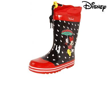 Botas de Borracha Minie Red Black Disney® | Escolha o Tamanho
