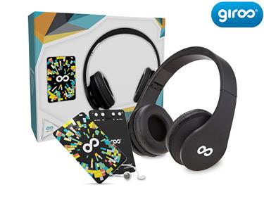 MP3 2G Slim + Auscultadores Bluetooth Alta Definição