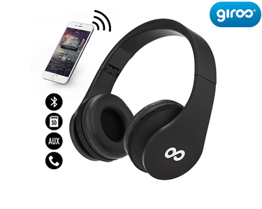 Auscultadores Dobráveis Bluetooth HD | Cores à Escolha