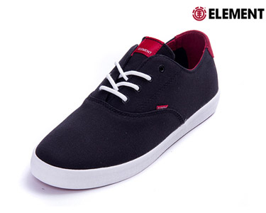 Ténis Element® Lockhart | Black Red
