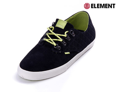 Ténis Element® Vernon | Black Neon Green