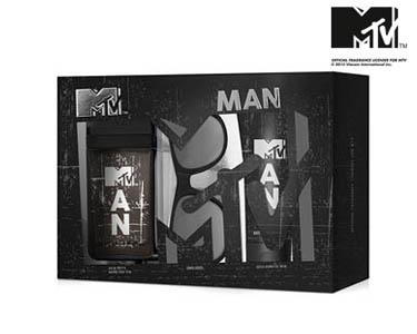 Conjunto Perfume MTV Man | Determinação e Atitude