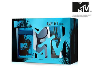 Conjunto Perfume MTV Amplify | Independente e Livre