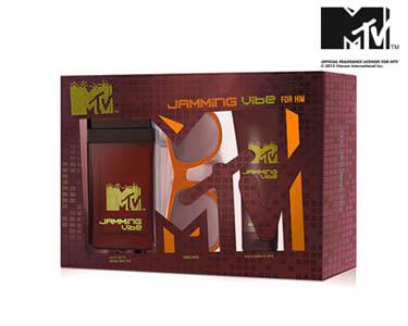 Conjunto Perfume MTV Jamming Vibe   Divertido e Descontraído