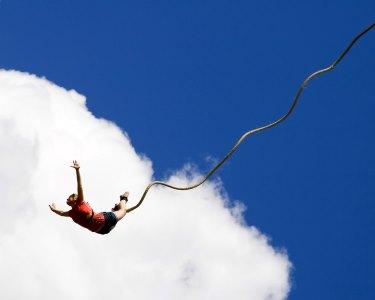 Salto de Bungee-Jumping Sobre o Rio Tejo | 1 ou 2 Pessoas | Almada