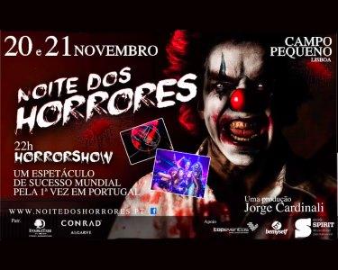 Horrorshow! «Noite dos Horrores» - 20 de Novembro | Campo Pequeno