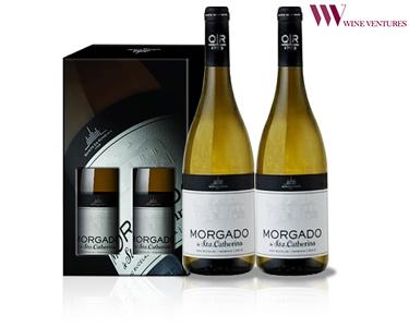 Pack 2 Garrafas de Vinho Morgado de Santa Catherina Branco