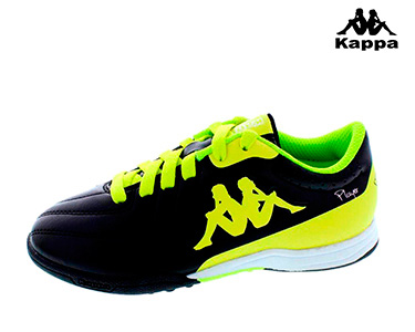 Ténis Kappa® Soccer | Preto e Amarelo