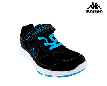 Ténis Kappa® Umberte   Preto e Azul