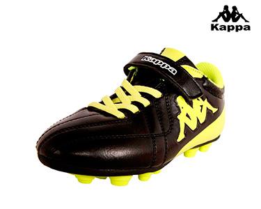Ténis Kappa® Soccer Chuteiras   Preto e Amarelo