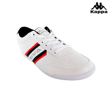 Ténis Kappa® Lotif | Branco e Vermelho