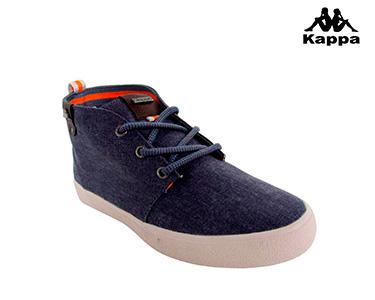 Ténis Kappa® Tricuspi | Azul e Castanho