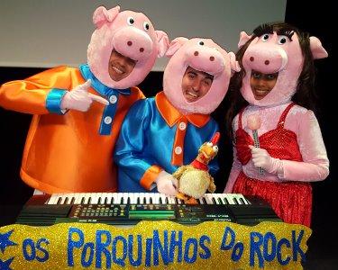 «Os 3 Porquinhos» - O Musical Infantil   Teatro Luís de Camões   Belém