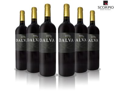 Pack 3 ou 6 Garrafas de Vinho Tinto Dalva Reserva