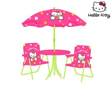 Hello Kitty | Conjunto Jardim Rosa & Verde