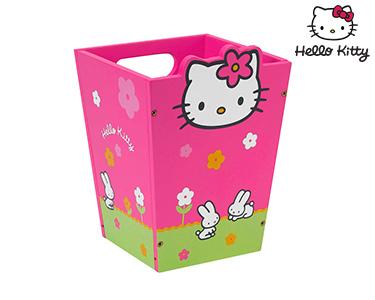 Hello Kitty | Cesto de Papéis Pink