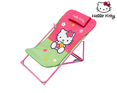 Hello Kitty | Cadeira Desmontável Green & Pink