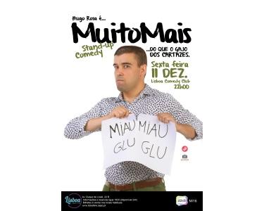 «Muito Mais Que o Gajo dos Cartazes» | Hugo Rosa no Lisboa Comedy Club