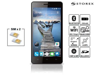 Smartphone QC50+ 4G 8GB | Dual Sim