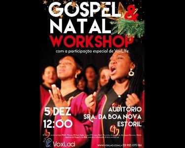 Entre no Espírito! Workshop a Dois: «Gospel & Natal»   05 Dezembro