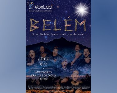 «Belém - Um Musical de Natal» | 1 ou 2 Pessoas | 05 Dezembro - Estoril