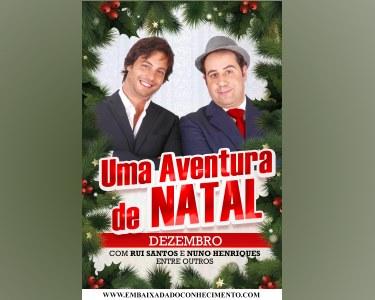 «Uma Aventura de Natal» - Peça Infantil | Teatro Villaret