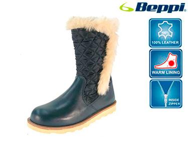 Bota Alta Beppi® Juvenil | Azul Marinho