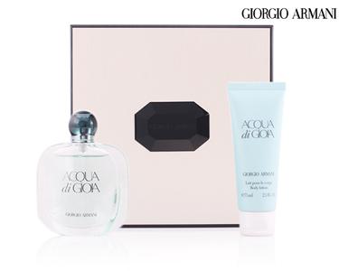 Coffret Armani® Mulher | Acqua Di Gioia