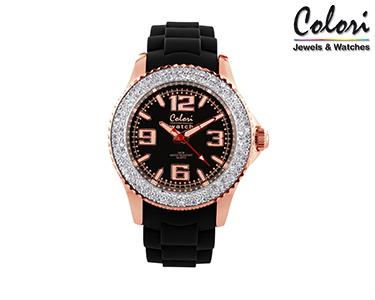 Relógio Colori® com Cristais | 5-COL082