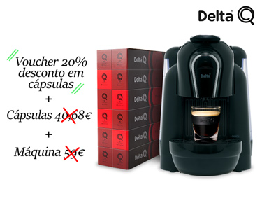 Delta Q Qool Manual + 150 Cápsulas + 20% Desconto na Loja Online