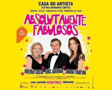 «Absolutamente Fabulosos» com Luis Aleluia   Teatro Armando Cortez