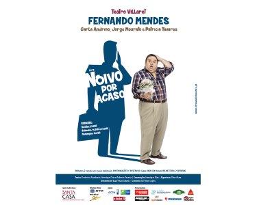 «Noivo Por Acaso» com Fernando Mendes no Teatro Villaret