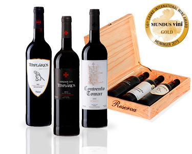 Pack 3 Garrafas de Vinho Tinto Reserva & Colheita Selecionada