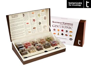 Pack Especial Gourmet | Gin&Tonic c/ 10 Botânicos + Colher