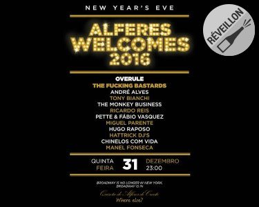 «Alferes Welcomes 2016» | New Years Eve Party | Vila do Conde