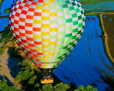 Passeio de Sonho em Balão de Ar Quente! TheSkybox® da Windpassenger